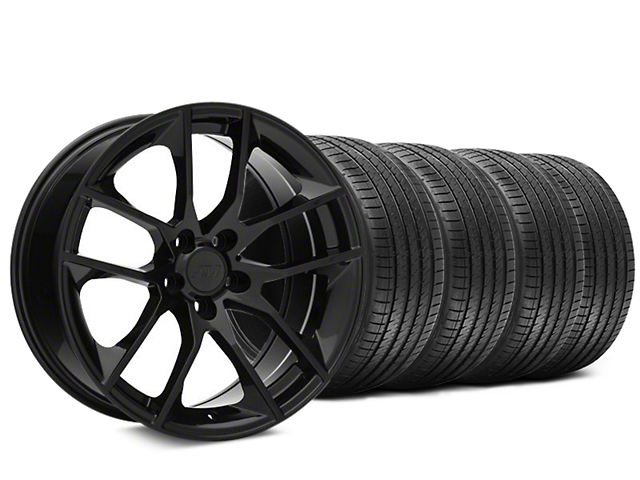Magnetic Style Black Wheel & Sumitomo HTR Z III Tire Kit - 20x8.5 (15-18 GT, EcoBoost, V6)