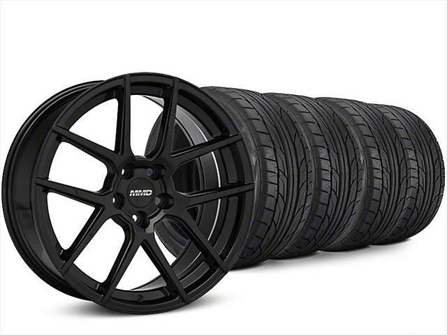 MMD Zeven Black Wheel & NITTO NT555 G2 Tire Kit - 20x8.5 (15-18 All)