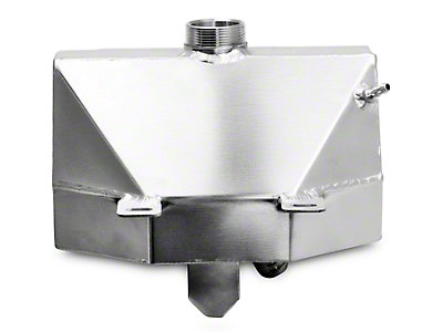 GMS Coolant Expansion Tank w/ Overflow Catch Can - Satin (15-18 All)