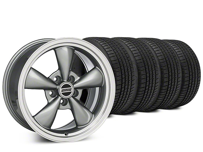 Bullitt Anthracite Wheel & Michelin Pilot Sport A/S 3+ Tire Kit - 20x8.5 (15-17 V6)