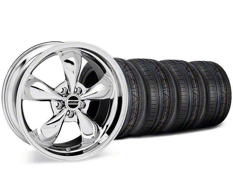 Bullitt Chrome Wheel & NITTO INVO Tire Kit - 19x8.5 (15-18 EcoBoost, V6)