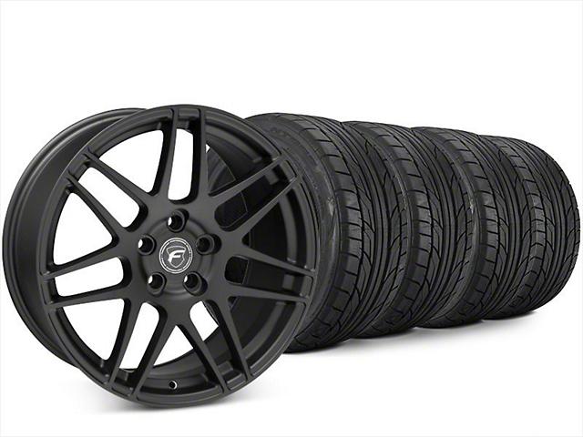 Forgestar F14 Matte Black Wheel & NITTO NT555 G2 Tire Kit - 20x9 (15-18 All)