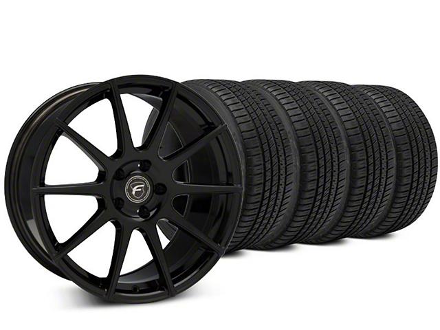 Forgestar CF10 Piano Black Wheel & Michelin Pilot Sport A/S 3+ Tire Kit - 19x9 (15-17 All)
