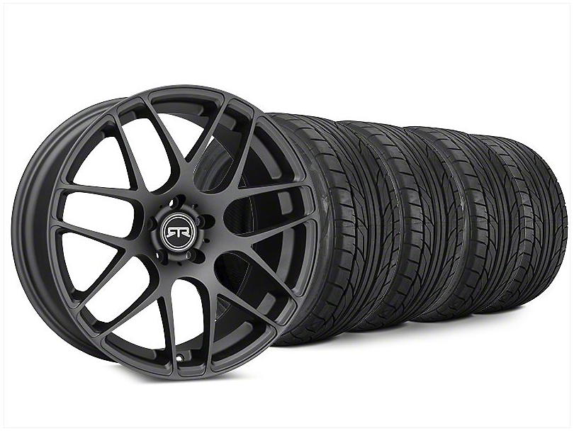 RTR Charcoal Wheel & NITTO NT555 G2 Tire Kit - 20x9 (15-19 All)