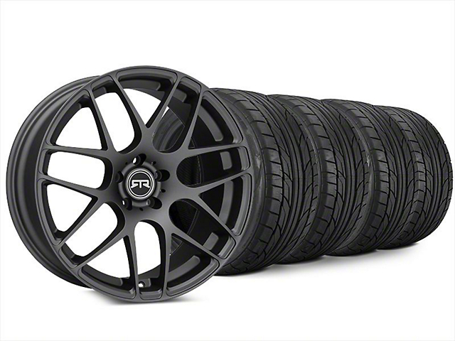 RTR Charcoal Wheel & NITTO NT555 G2 Tire Kit - 20x9 (15-18 All)
