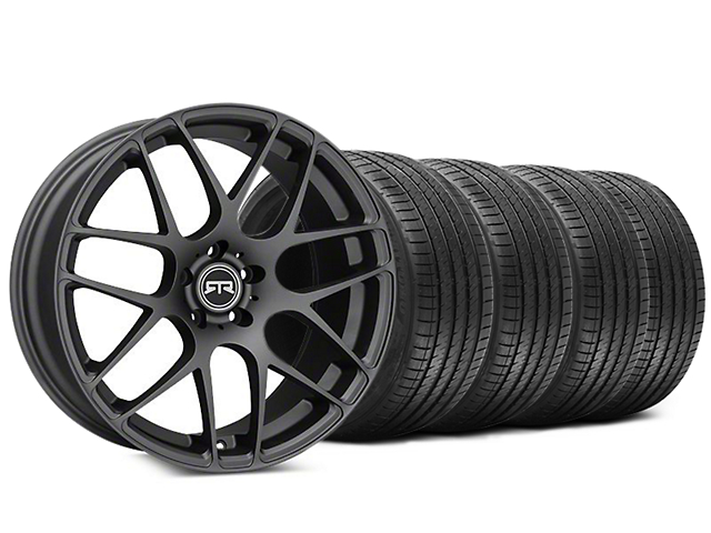 RTR Charcoal Wheel & Sumitomo HTR Z III Tire Kit - 20x9 (15-19 GT, EcoBoost, V6)