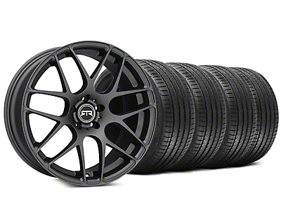 RTR Charcoal Wheel & Sumitomo HTR Z III Tire Kit - 20x9 (15-18 GT, EcoBoost, V6)