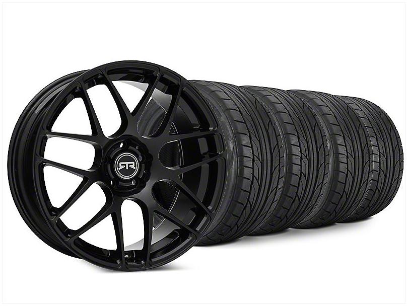 RTR Black Wheel & NITTO NT555 G2 Tire Kit - 20x9 (15-17 All)