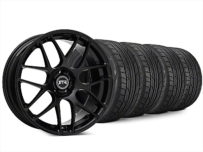 RTR Black Wheel & NITTO NT555 G2 Tire Kit - 20x9 (15-17 All)