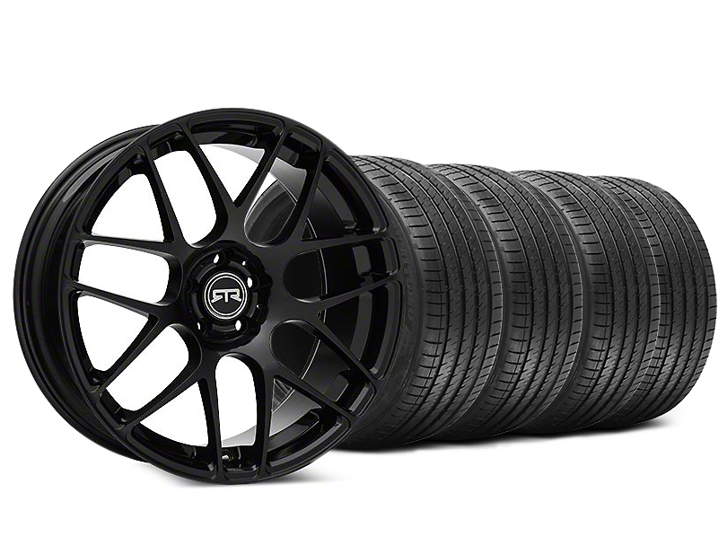 RTR Black Wheel & Sumitomo HTR Z III Tire Kit - 20x9 (15-17 All)