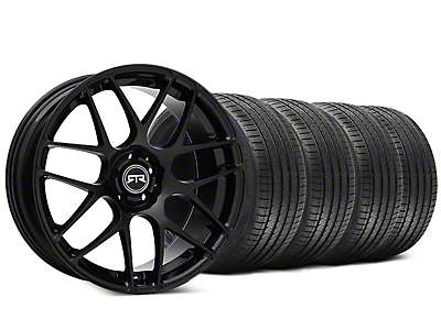 RTR Black Wheel & Sumitomo HTR Z III Tire Kit - 20x9 (15-19 GT, EcoBoost, V6)