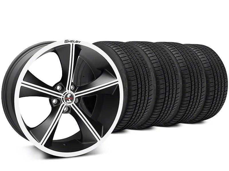Shelby CS70 Matte Black Wheel & Michelin Pilot Sport A/S 3+ Tire Kit - 20x9 (15-17 All)
