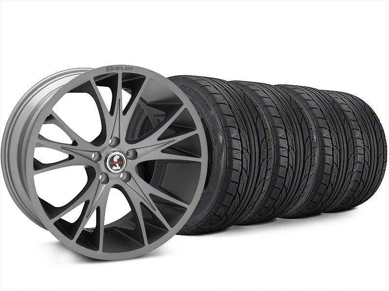 Shelby CS1 Gunmetal Wheel & NITTO NT555 G2 Tire Kit - 20x9 (15-17 All)