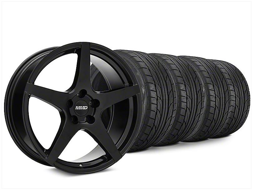 MMD Sinn Black Wheel & NITTO NT555 G2 Tire Kit - 20x8.5 (15-17 All)