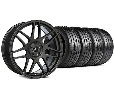 Forgestar F14 Gunmetal Wheel & Sumitomo HTR Z III Tire Kit - 19x9.5 (15-18 All)