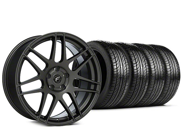 Forgestar F14 Gunmetal Wheel & Pirelli P-Zero Nero Tire Kit - 19x9.5 (15-18 All)