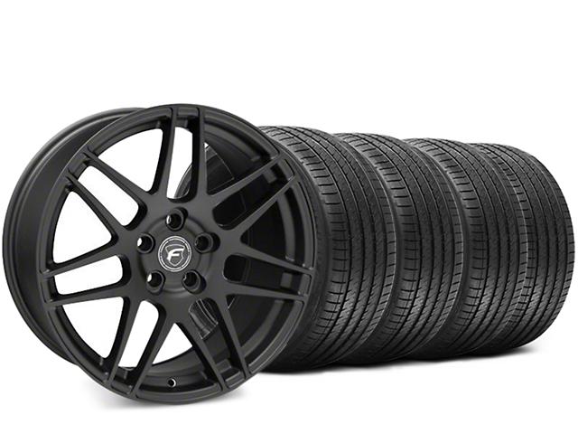 Forgestar F14 Matte Black Wheel & Sumitomo HTR Z III Tire Kit - 19x9.5 (15-18 GT, EcoBoost, V6)