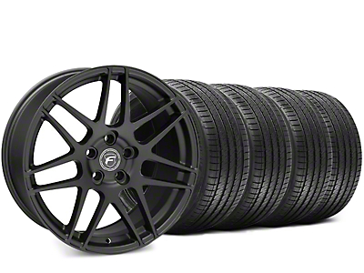 Forgestar F14 Matte Black Wheel & Sumitomo HTR Z III Tire Kit - 19x9.5 (15-17 All)