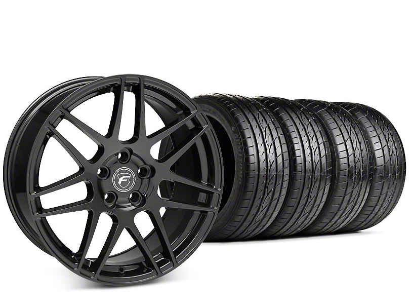 Forgestar F14 Piano Black Wheel & Sumitomo HTR Z III Tire Kit - 19x9.5 (15-18 All)