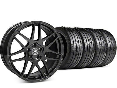 Forgestar F14 Piano Black Wheel & Sumitomo HTR Z III Tire Kit - 19x9.5 (15-17 All)