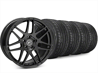 Forgestar F14 Piano Black Wheel & NITTO NT555 G2 Tire Kit - 20x9.5 (15-17 All)