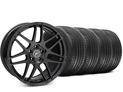 Forgestar F14 Piano Black Wheel & Sumitomo HTR Z III Tire Kit - 20x9.5 (15-17 All)