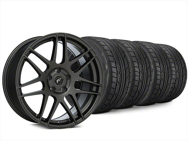 Forgestar F14 Gunmetal Wheel and NITTO NT555 G2 Tire Kit; 20x9.5 (15-20 EcoBoost, V6)