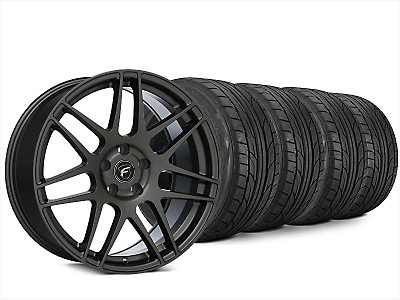 Forgestar F14 Gunmetal Wheel & NITTO NT555 G2 Tire Kit - 20x9.5 (15-18 All)