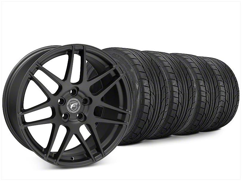 Forgestar F14 Matte Black Wheel & NITTO NT555 G2 Tire Kit - 20x9.5 (15-19 All)