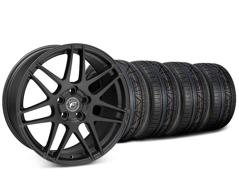 Forgestar F14 Matte Black Wheel & NITTO INVO Tire Kit - 20x9.5 (15-18 All)