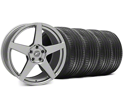 Forgestar CF5 Gunmetal Wheel & Sumitomo HTR Z III Tire Kit - 19x9.5 (15-17 All)