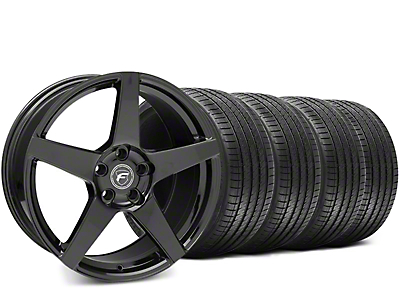 Forgestar CF5 Piano Black Wheel & Sumitomo HTR Z III Tire Kit - 19x9.5 (15-18 All)