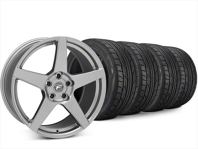 Forgestar CF5 Gunmetal Wheel & NITTO NT555 G2 Tire Kit - 20x9.5 (15-18 All)