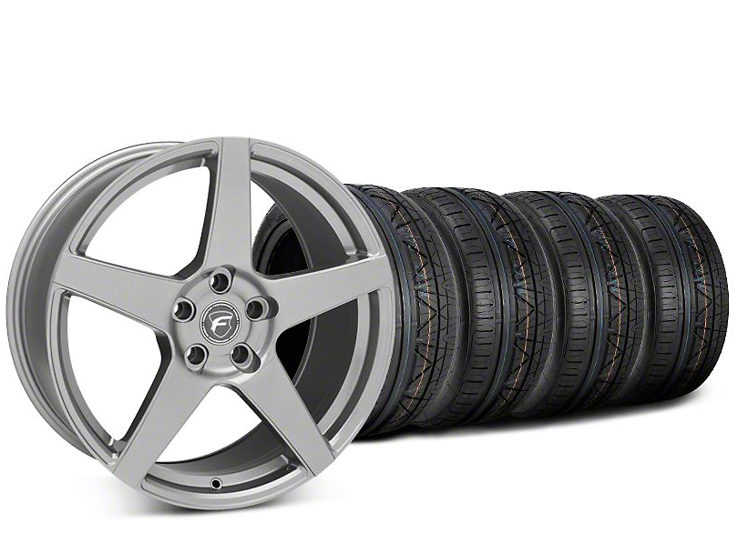 Forgestar CF5 Gunmetal Wheel & NITTO INVO Tire Kit - 20x9.5 (15-18 All)