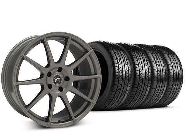 Forgestar CF10 Gunmetal Wheel & Pirelli P-Zero Nero Tire Kit - 19x9.5 (15-17 All)