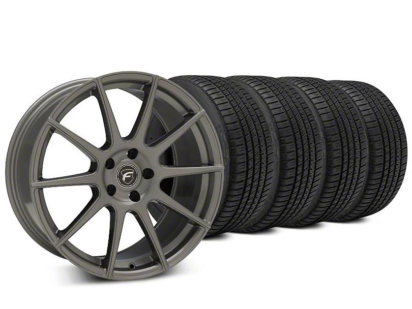 Forgestar CF10 Gunmetal Wheel & Michelin Pilot Sport A/S 3+ Tire Kit - 20x9.5 (15-19 All)