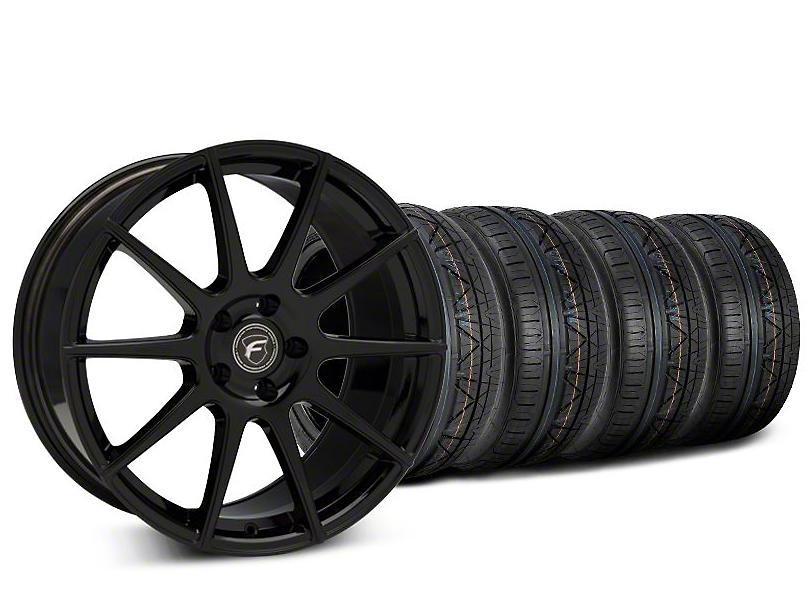 Forgestar CF10 Piano Black Wheel & NITTO INVO Tire Kit - 20x9.5 (15-18 All)