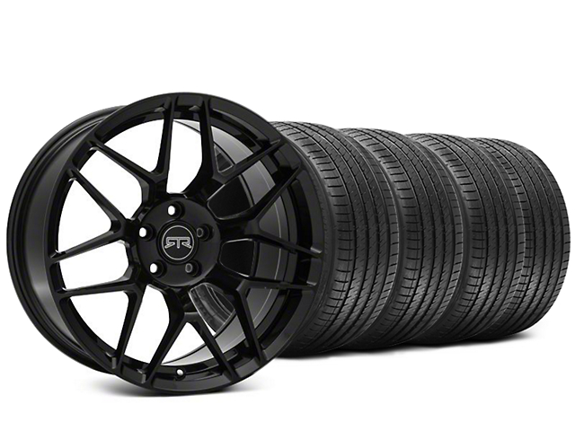 RTR Tech 7 Black Wheel & Sumitomo HTR Z III Tire Kit - 20x9.5 (15-18 GT, EcoBoost, V6)