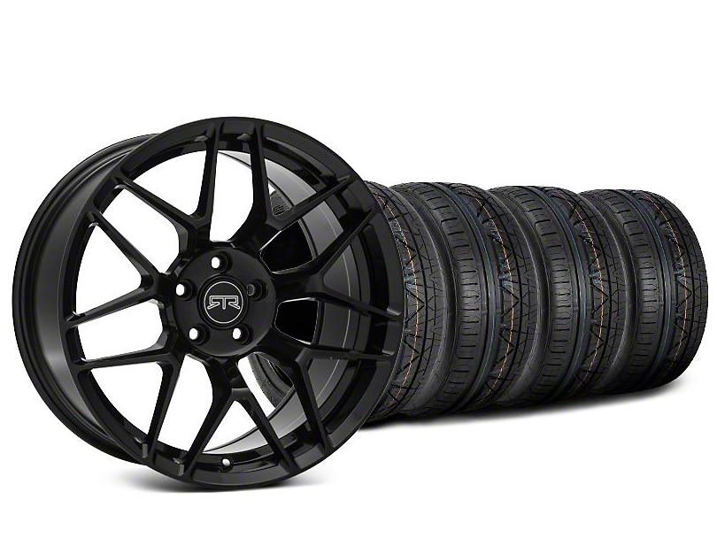 RTR Tech 7 Black Wheel & NITTO INVO Tire Kit - 20x9.5 (15-18 All)