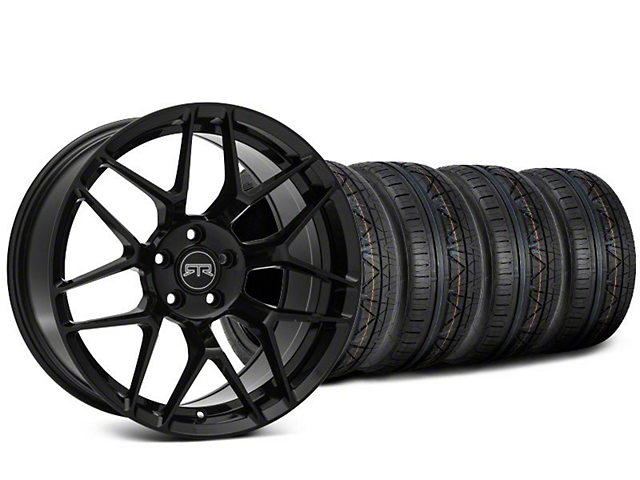 RTR Tech 7 Black Wheel & NITTO INVO Tire Kit - 20x9.5 (15-17 All)