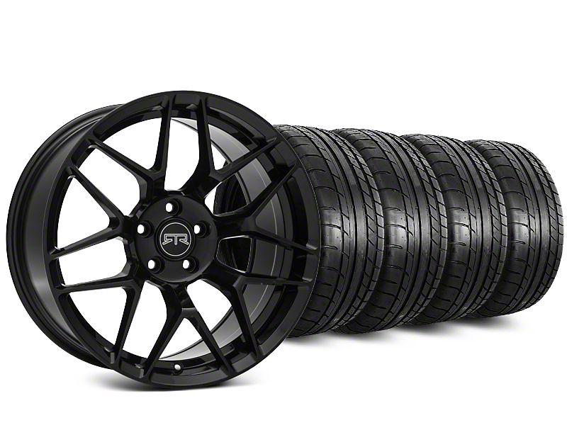 RTR Tech 7 Black Wheel & Mickey Thompson Street Comp Tire Kit - 20x9.5 (15-18 All)