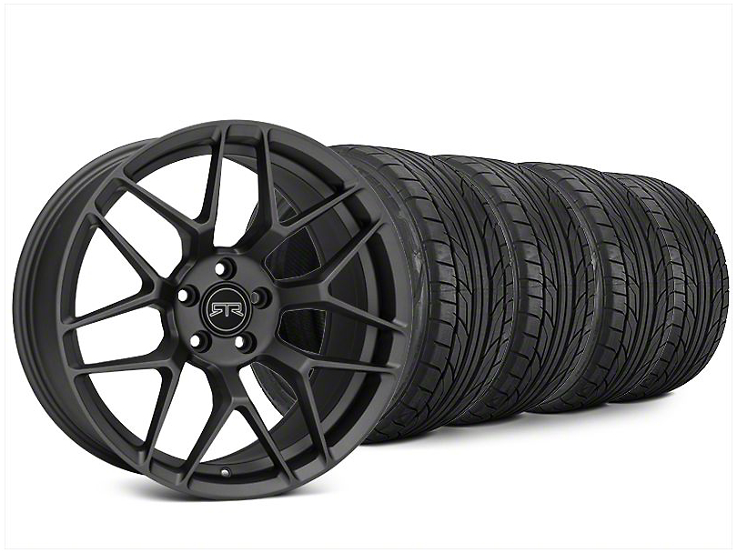 RTR Tech 7 Charcoal Wheel & NITTO NT555 G2 Tire Kit - 20x9.5 (15-18 All)