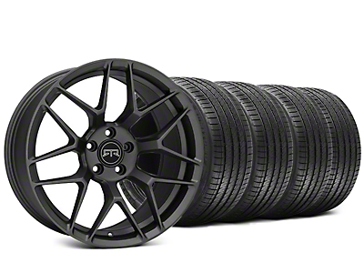 RTR Tech 7 Charcoal Wheel & Sumitomo HTR Z III Tire Kit - 20x9.5 (15-18 All)