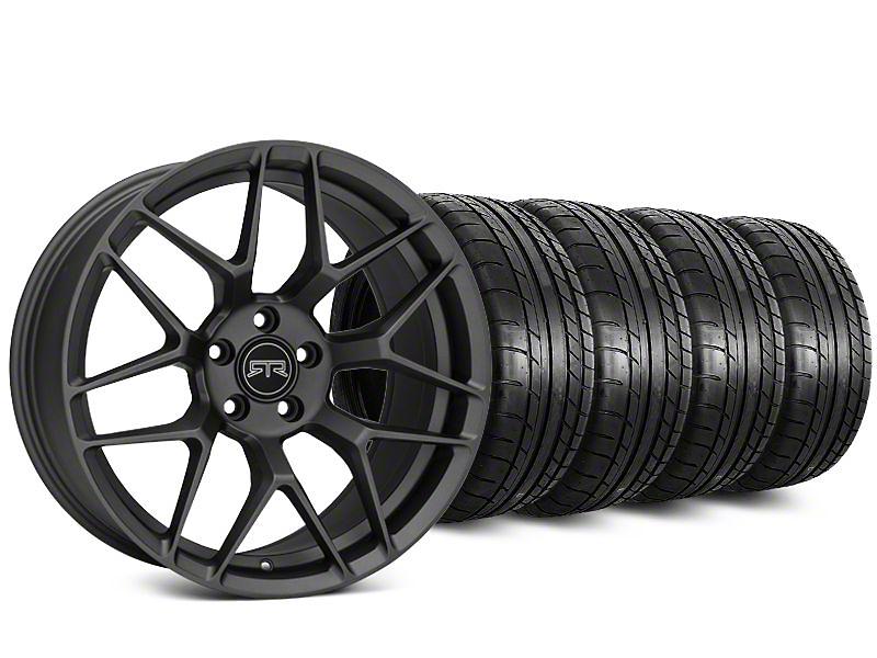 RTR Tech 7 Charcoal Wheel & Mickey Thompson Street Comp Tire Kit - 20x9.5 (15-18 All)