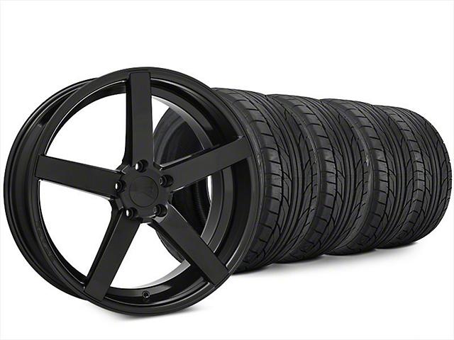 Rovos Durban Brushed Black Wheel & NITTO NT555 G2 Tire Kit - 20x8.5 (15-17 All)
