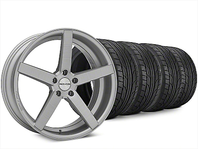 Rovos Durban Brushed Wheel & NITTO NT555 G2 Tire Kit - 20x8.5 (15-18 All)