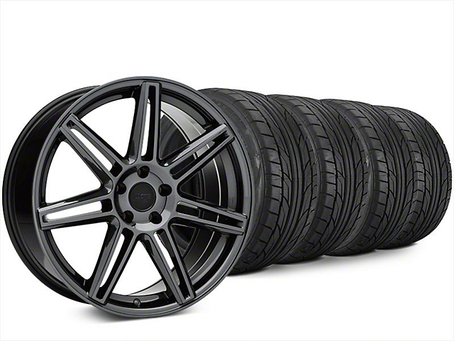 Niche Lucerne Black Chrome Wheel & NITTO NT555 G2 Tire Kit - 20x9 (15-17 All)