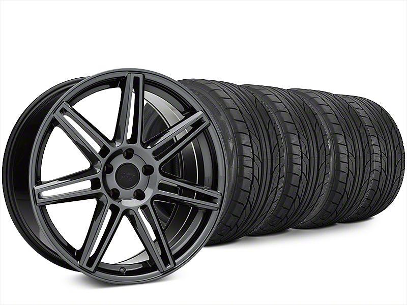 Niche Lucerne Black Chrome Wheel & NITTO NT555 G2 Tire Kit - 20x9 (15-17 All)