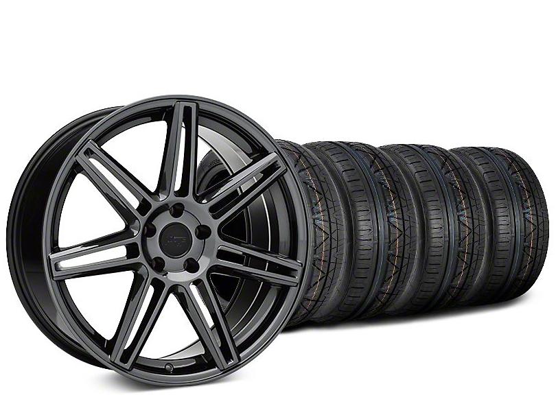 Niche Lucerne Black Chrome Wheel & NITTO INVO Tire Kit - 20x9 (15-17 All)