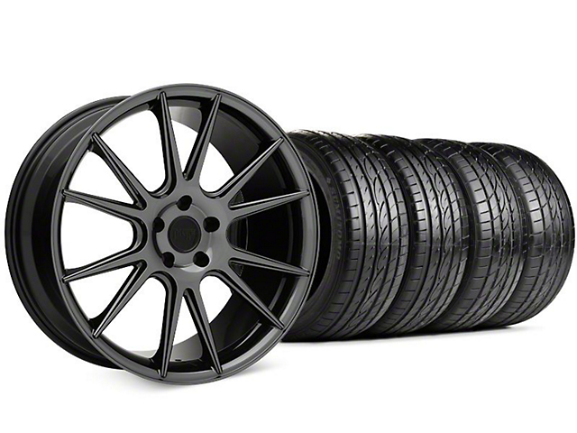 Niche Vicenza Black Chrome Wheel & Sumitomo HTR Z III Tire Kit - 20x9 (15-18 GT, EcoBoost, V6)